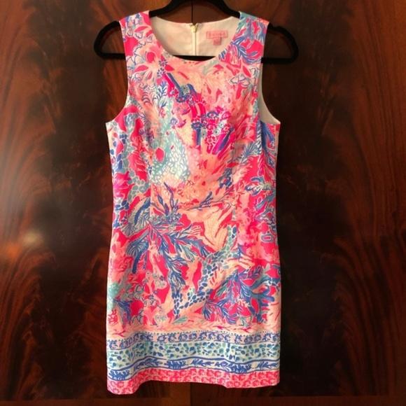 f9db876230306d Lilly Pulitzer Dresses & Skirts - Lilly Pulitzer Mila Shift Pascha Pink  Aquadesiac